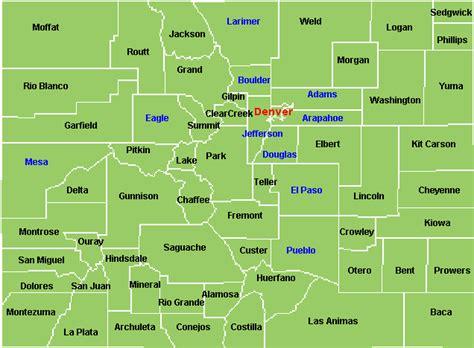 colorado golf courses map colorado county map par 3 and executive golf courses