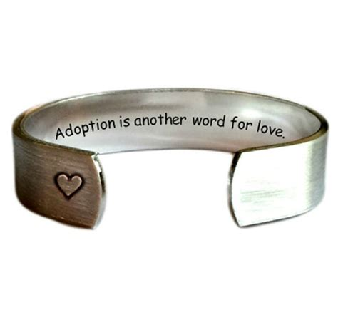 adoption is another word for 1 2 cuff bracelet