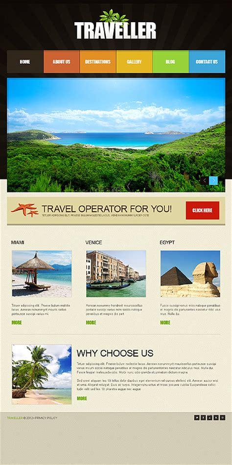 traveller template best premium travel travel agency tourism joomla templates