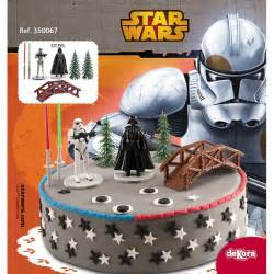 wars dekoration d 233 coration gateau wars