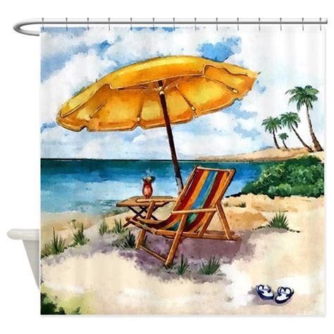 beach scene curtains beach scene shower curtain by simpleshopping