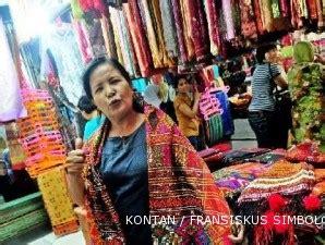 Jual Lu Bandung pasar senen batak tempat favorit berburu ulos di jakarta 1