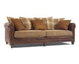 Leather Fabric Sofas Leather And Fabric Combination Sofas Furniture In Mesa Az S Thesofa