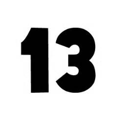 famous number 13 (13th round) | thoughtful thoughts
