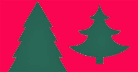 arboles de navidad para recortar
