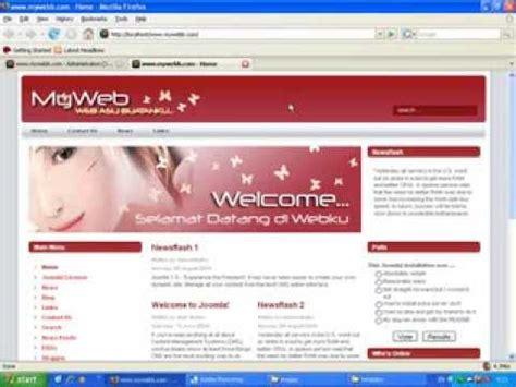 tutorial desain header website desain website joomla 7 mengganti gambar header site