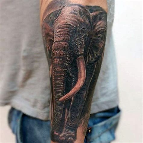 elephant tattoos for men 100 elephant designs for think big