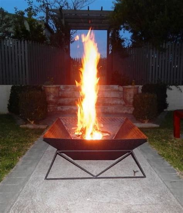 diy  fire pit   backyard ideas