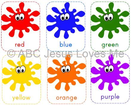 free printable color flashcards for toddlers color clipart flashcard pencil and in color color