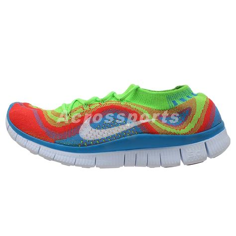 rainbow nike sneakers nike free flyknit mens running shoes trainers sneakers