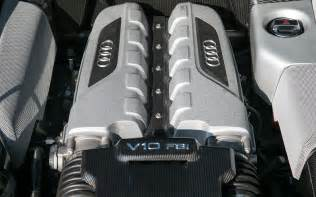 Audi R8 V10 Engine 2014 Audi R8 V10 Plus Engine Photo 8