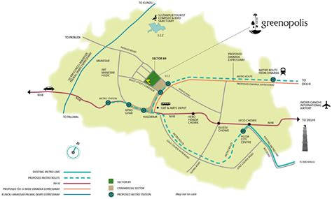 Layout Plan Of Kmp Expressway | location map