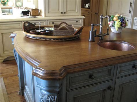 hickory kitchen island wood countertops guest post by joshua johson of j aaron