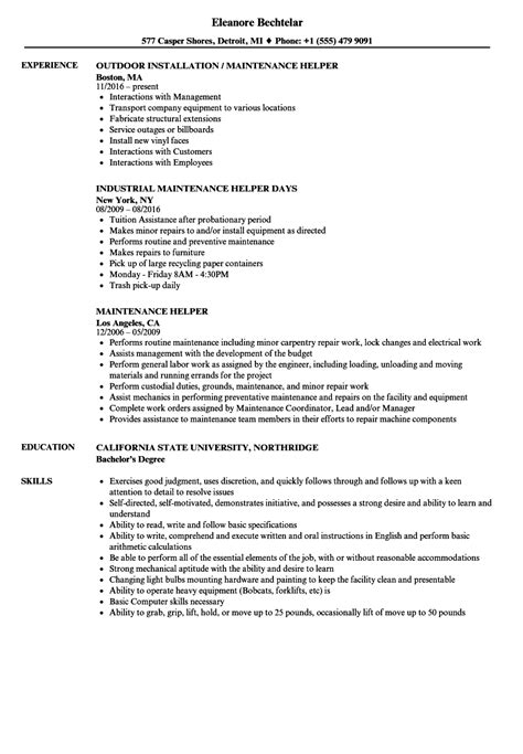 Boiler Repair Sle Resume by Boiler Engineer Sle Resume Free Lease Agreement Template Word Doc Resume Template With Photo
