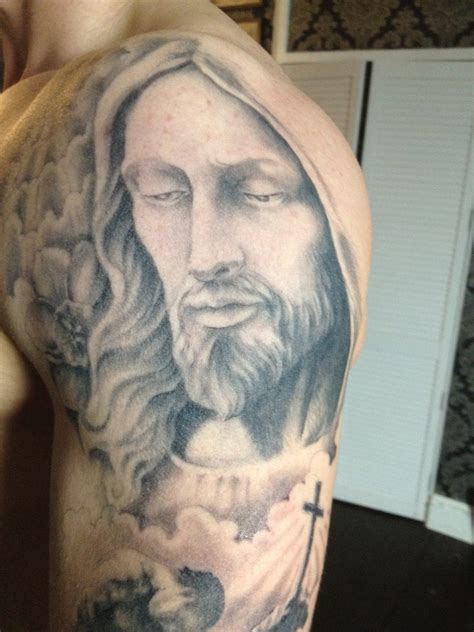 jesus christ tribal tattoo jesus tattoos designs ideas and meaning tattoos for you