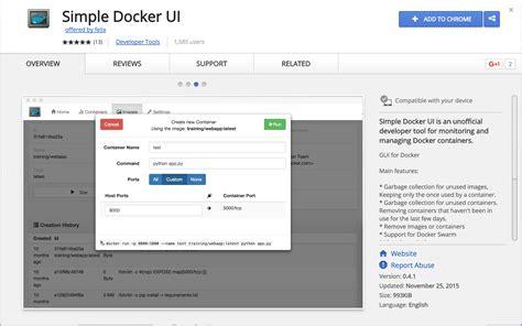 docker tutorial base images simple docker ui adictosaltrabajo