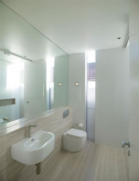 bathroom full wall mirror two story contemporary waving home starr residence in australia bathroom remodel pinterest
