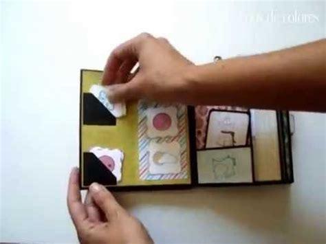 tutorial scrapbook youtube mini album scrapbook tutorial youtube