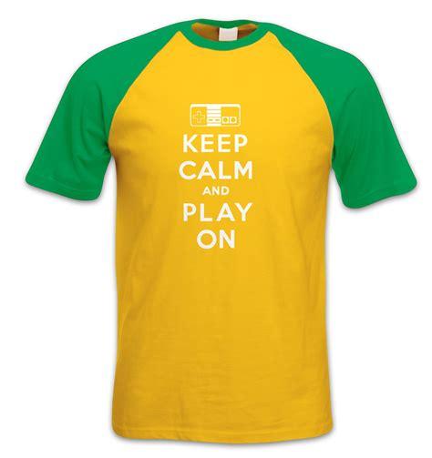 Kaos Keep Calm Minecraft Tshirt T Shirt T Shirt keep calm and play on t shirt somethinggeeky