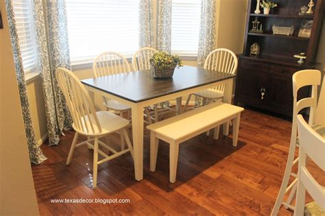 Painting A Kitchen Table Images Of Painted Kitchen Table And Chairs Here S What It Looked Like Before It Really