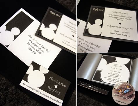 wedding invitation to mickey mouse throwback thursday mickey wedding invites