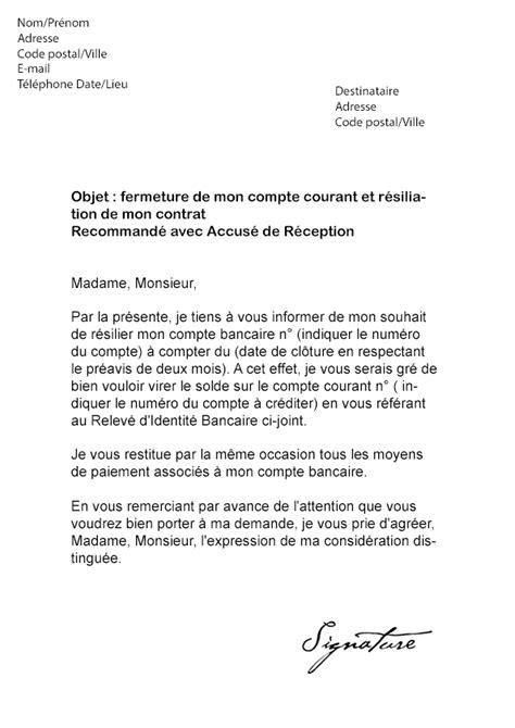 Lettre De Motivation Banque Conseiller Clientele Bts Lettre De R 233 Siliation Lcl Mod 232 Le De Lettre