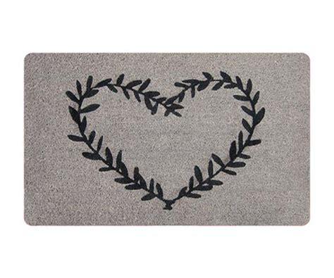 designer door mats heart wreath designer door mat