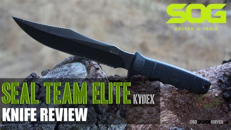 sog seal team elite sog seal team elite with kydex sheath osograndeknives