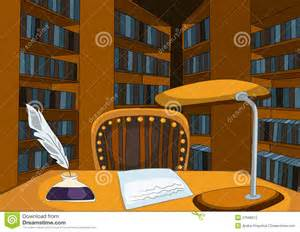Wood Bookshelf Plans Free by Library Room Cartoon Stock Photos Image 27698513