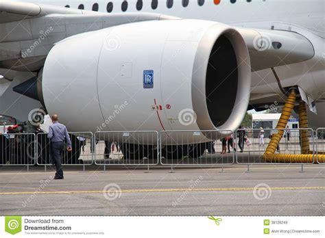 rolls royce engine size rolls royce trent xwb editorial stock image image 38126249
