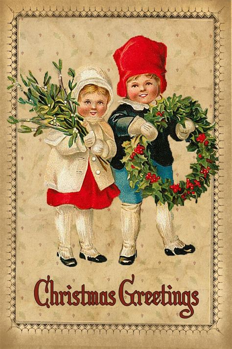 printable christmas cards vintage 71 best vintage christmas cards images on pinterest