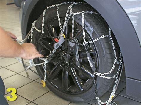 cadenas coche mixtas c 243 mo poner las cadenas de nieve en el coche autof 225 cil