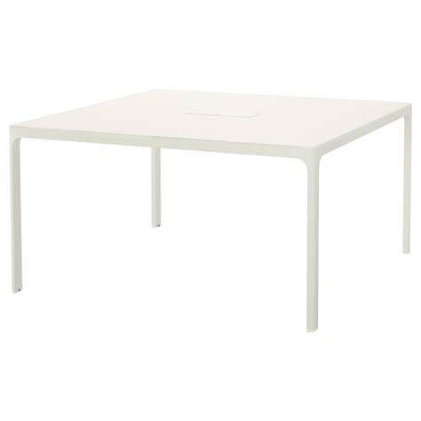 Ikea Meeting Table Bekant Conference Table White 140x140 Cm Ikea