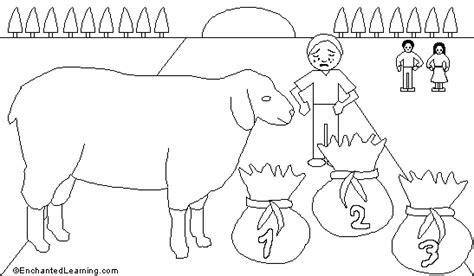 baa baa black sheep printout enchantedlearning com