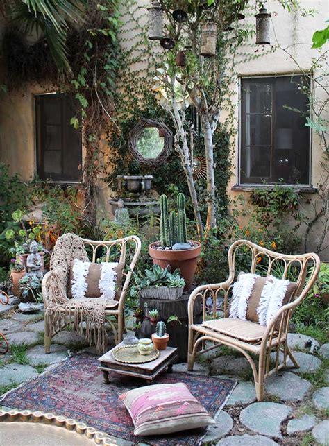 bohemian backyard a beverly hills hairstylist s bohemian home design sponge