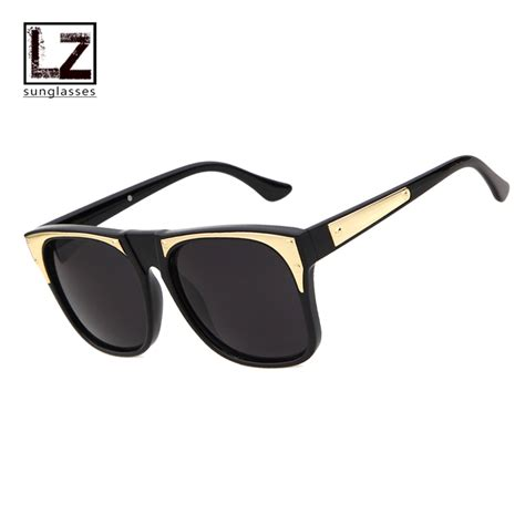 metal name brand eyeglasses 2016 square sunglasses
