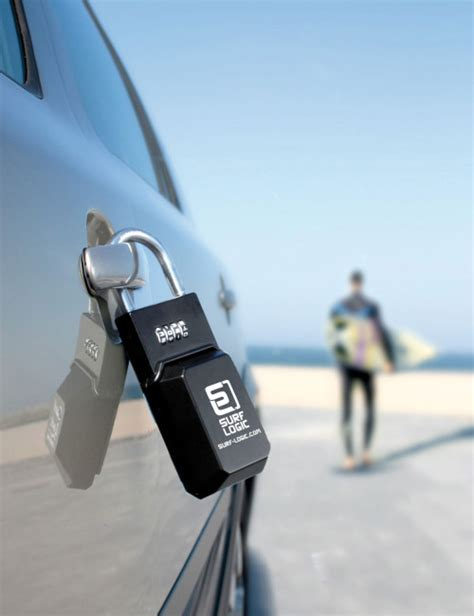 porta surf auto surf logic key security lucchetto porta chiavi auto