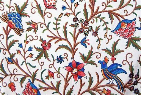 embroidered fabrics crewel fabric crewel embroidered fabrics custom made