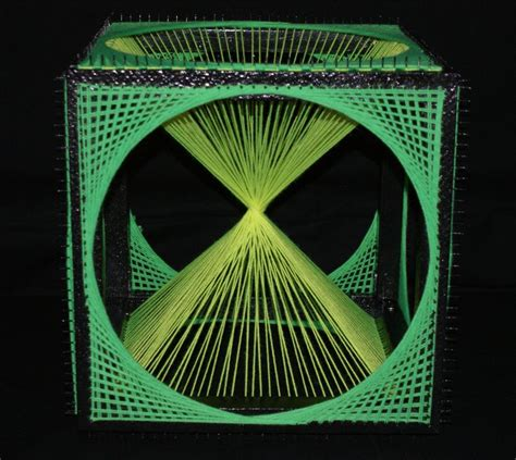 String 3d - image detail for string cube 3d vert uv deco