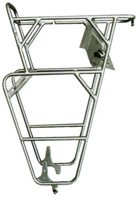 Front Bike Pannier Rack by Nitto Rivendell Front Pannier 34f Low Rider Bicycle Rack