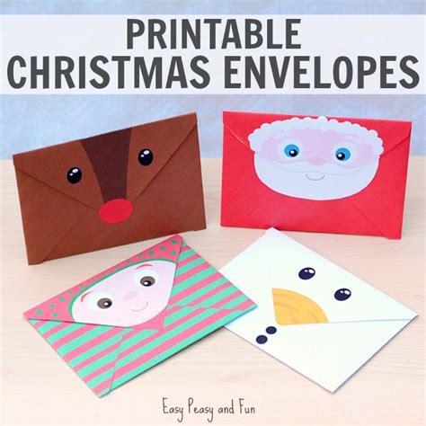 Printable Xmas Envelopes | printable christmas envelopes easy peasy and fun