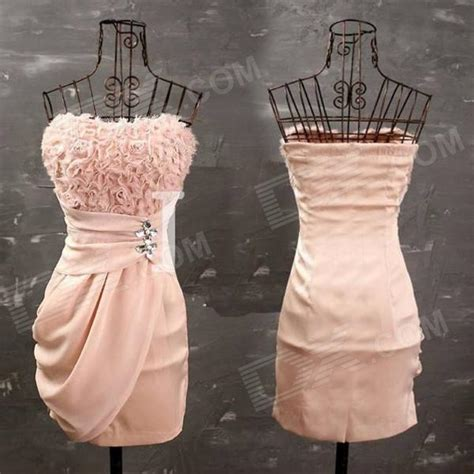 pattern dress tight cascading rose pattern elegant georgette tight strapless