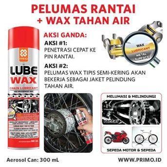 Chain Lube Pelumas Rantai jual pelumas rantai motor chain lube wax primo lube wax