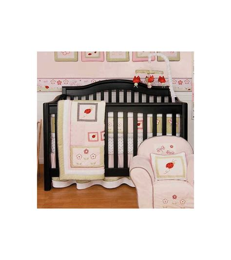 Kidsline Crib Bedding Set by Kidsline Bug 6 Crib Bedding Set