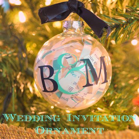 wedding invite ornament wedding invitation ornament the nerds