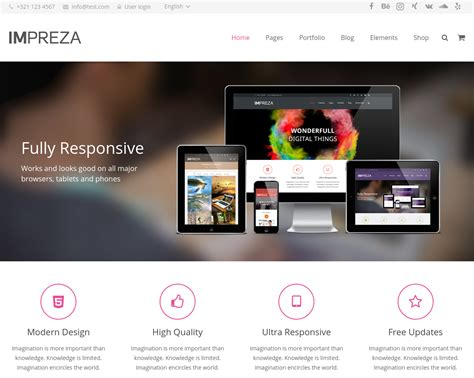 theme wordpress impreza impreza review from our experts isitwp