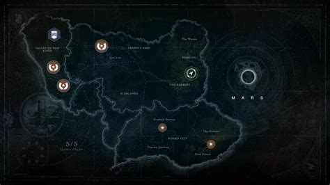 destiny maps destiny s iconic interface was forgettably flat until an 11th hour intervention brought