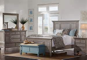 belmar gray 7 pc king panel bedroom bedroom sets colors