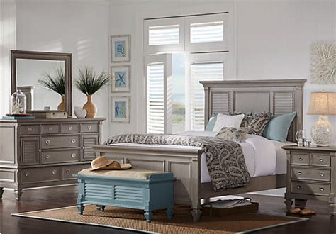 belmar gray  pc queen panel bedroom bedroom sets colors