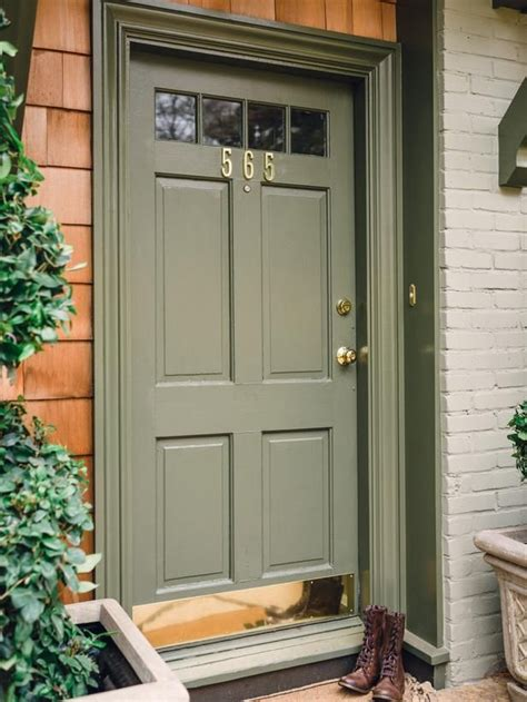 Green Exterior Door 71 Best Images About Shutters On Paint Colors Front Doors And Green Shutters
